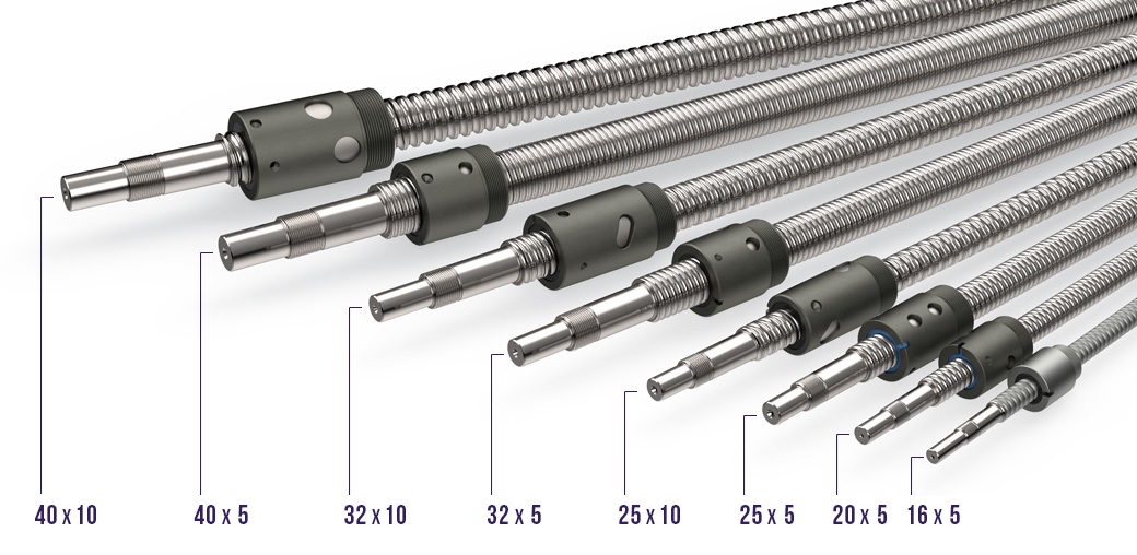RBS Metric Ball Screws and Size